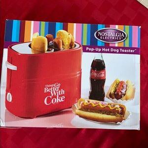 Coke- Pop Up Hot Dog Toaster